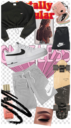My skater fit😚😜👉👈