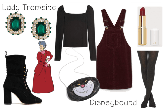 Lady Tremaine Disneybound