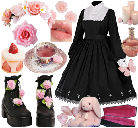 oc - pink goth