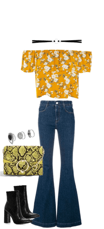 flared floral