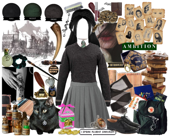 Slytherin Girl Outfit 2