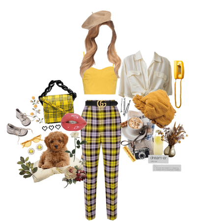 yellow queen #tartan