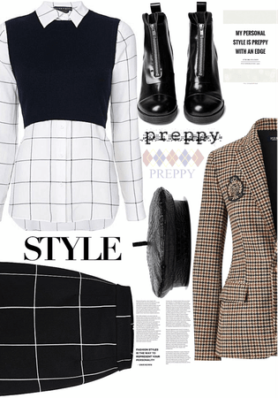 Preppy with an Edge