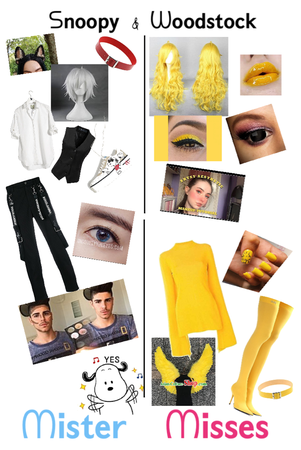 ᔕ𝗻𝗼𝗼𝗽𝘆 & ᗯ𝗼𝗼𝗱𝘀𝘁𝗼𝗰𝗸 couples costume