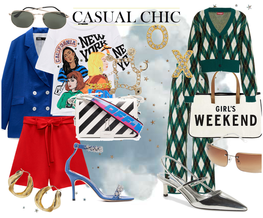 Two Ways To Do Casual Chic