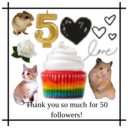 50 Followers!