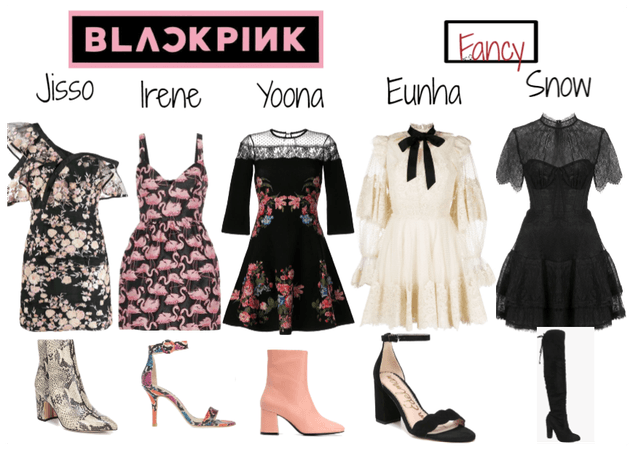 Blackpink Fancy outfit