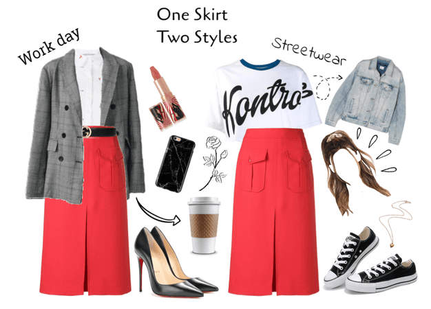 All day all night SKIRT