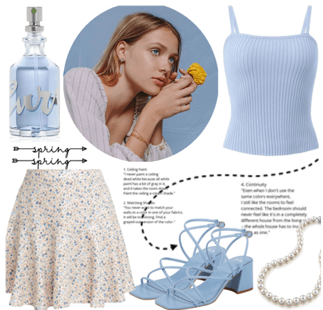 SPRING/SUMMER 2020: Floral Skirt Style