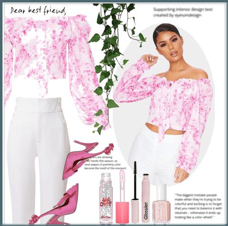 Pastel Pink Graffiti