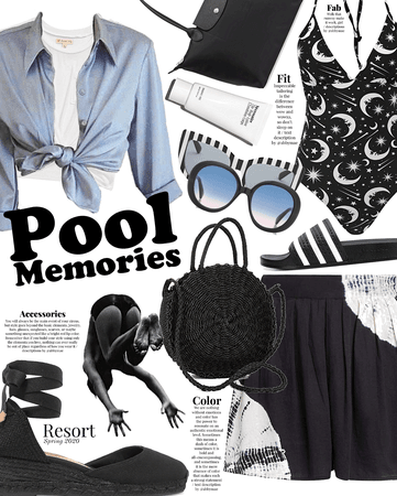 memories | pool party