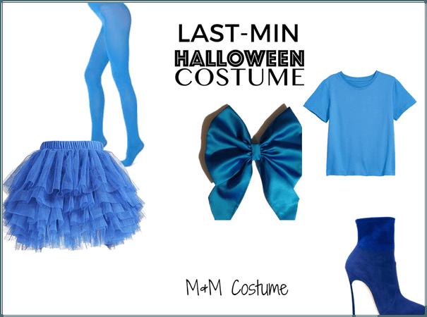 MnM Last Minute Halloween Costume