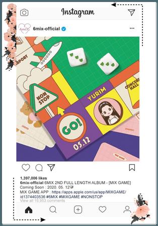 《6mix》Instagram Update