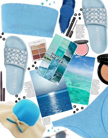 Shades of the Beautiful Blue Sea
