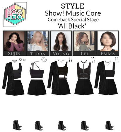 STYLE Show! Music Core 'All Black' Special Stage