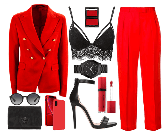 Classic Black & Red