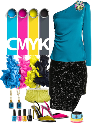CMYK Asymmetrical Look