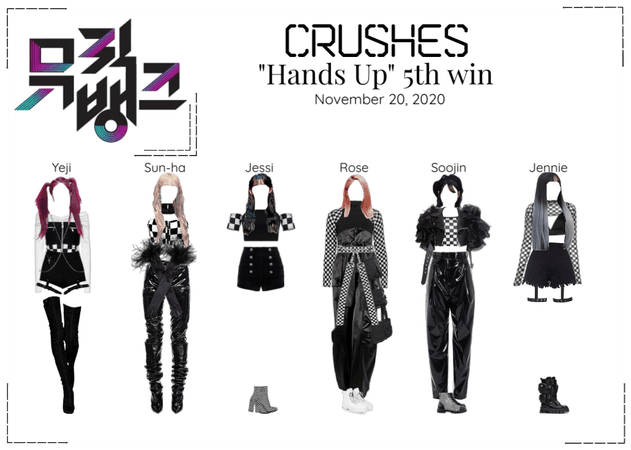 "Crushes (호감) ""Hands Up"" 5th Win"