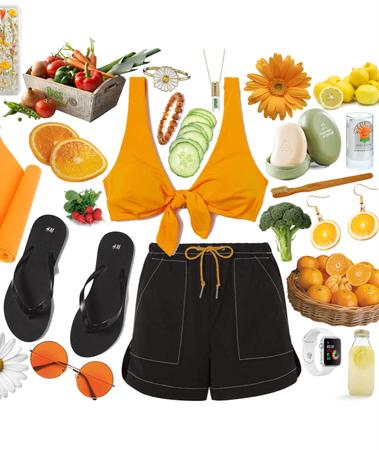 orange beach babe