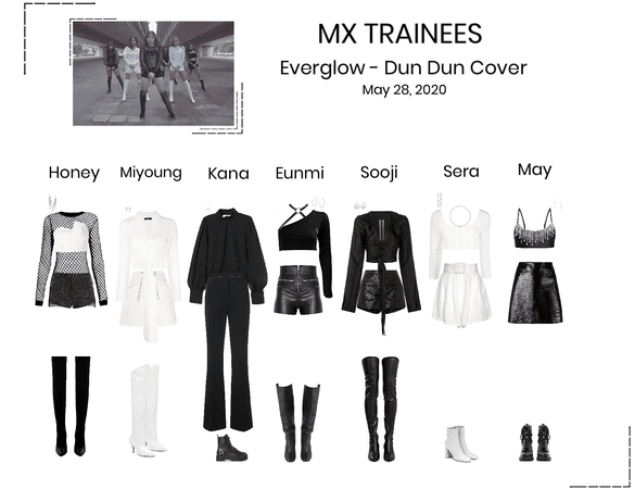 MX Trainees - Dun Dun Cover