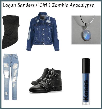 Logan Sanders ( Girl ) Zombie Apocalypse