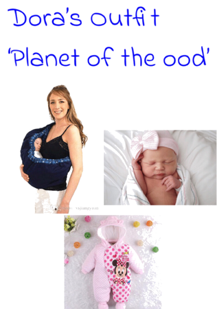Dora's outfit 'Planet of the ood'- The Astronomer