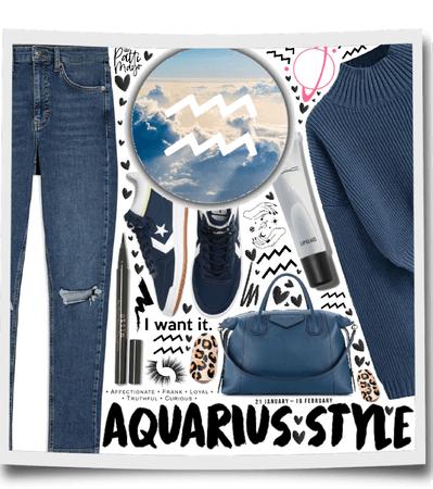 Casual  Aquarius 🖤🖤🖤