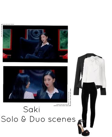 Blace Dress MV- Saki
