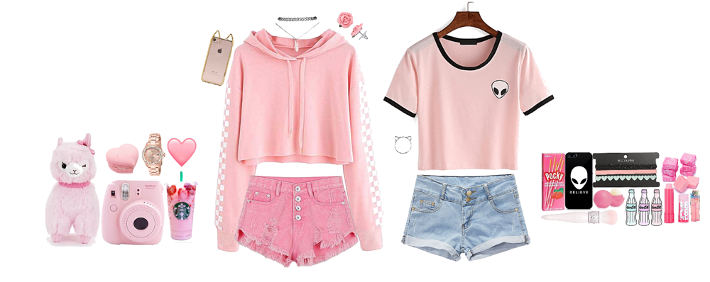 2014 pink tumblr outfits