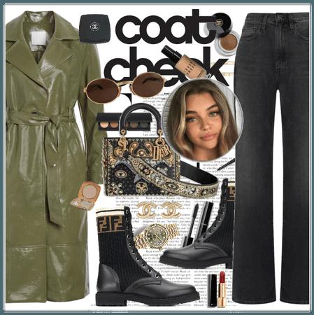 coat check:olive