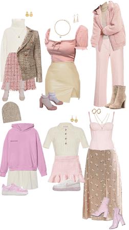 pink and beige pt 1