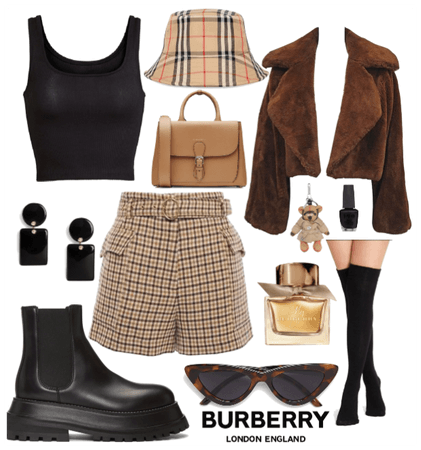 April Showers in Burberry