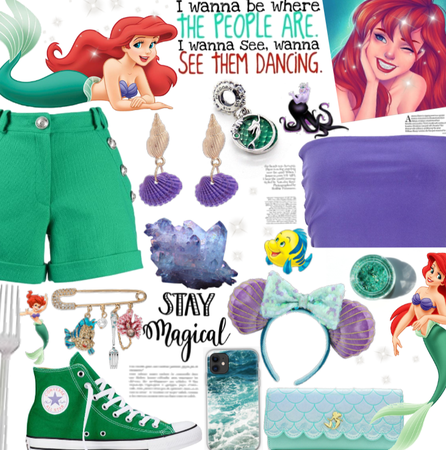 Ariel inspired Disney outfit