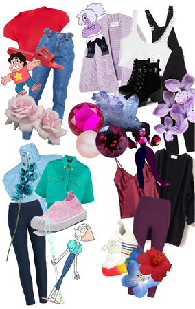Steven Universe inspired outfits