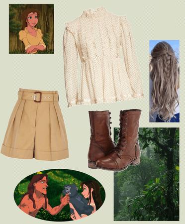Jane from Tarzan - challenge
