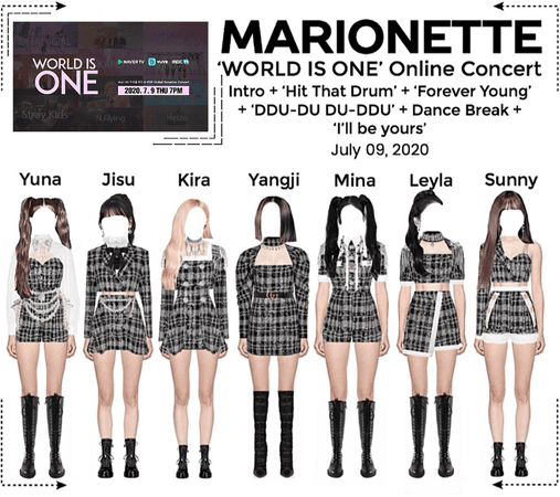 MARIONETTE (마리오네트) 'WORLD IS ONE' Online Concert