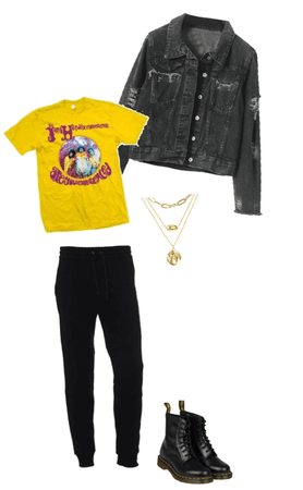 Jimi Hendrix Inspired Fit