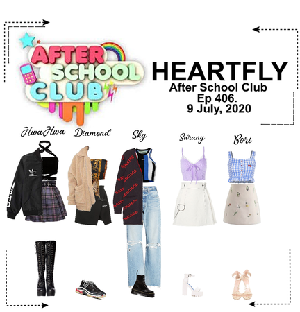 HEARTFLY (하트플라이요) AFTER SCHOOL CLUB EPISODE 406.