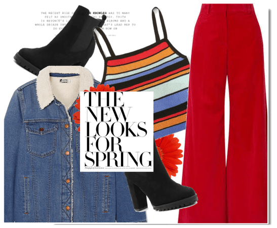 70's Red Spring #02