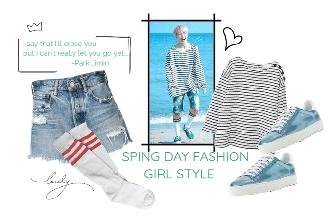 BTS Jimin Spring Day Outfit
