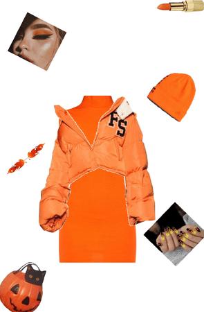 Orange gurl!🧡🥺