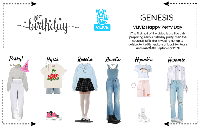 ​GENESIS (게네시스) Happy Perry Day VLIVE!