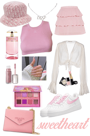 pink sweetheart