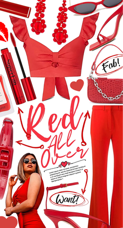 Red all over