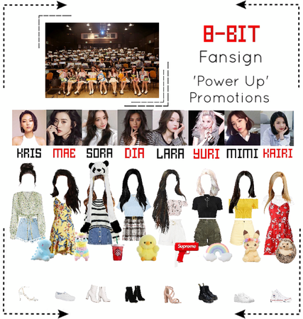 ⟪8-BIT⟫ Fansign - 'Power Up' Promotions