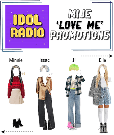 MIJE 'love me' promotions: Idol Room