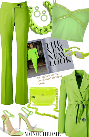 Summer Monochrome: LIME