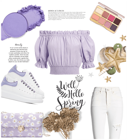 Lavender theme spring #pretty #beautiful #spring