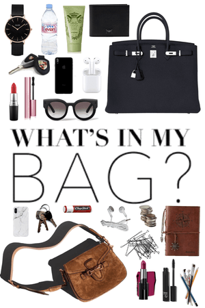 what's in my bag - 2 ways