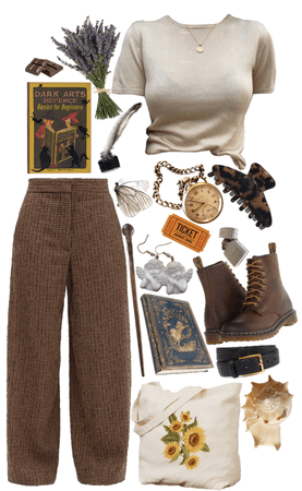 Remus Lupin- Outfits Inspired by Professors